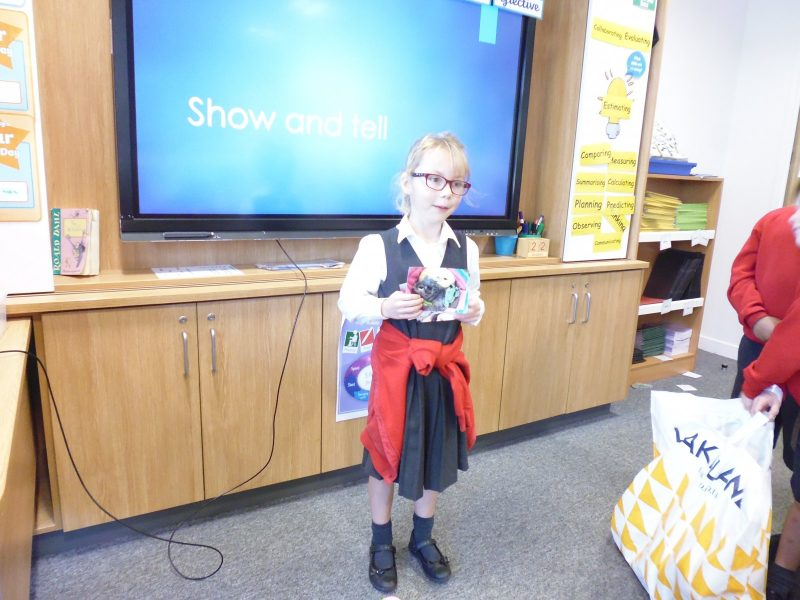 Samuel Lucas Jmi School What Cheers Us Up Show And Tell Samuel