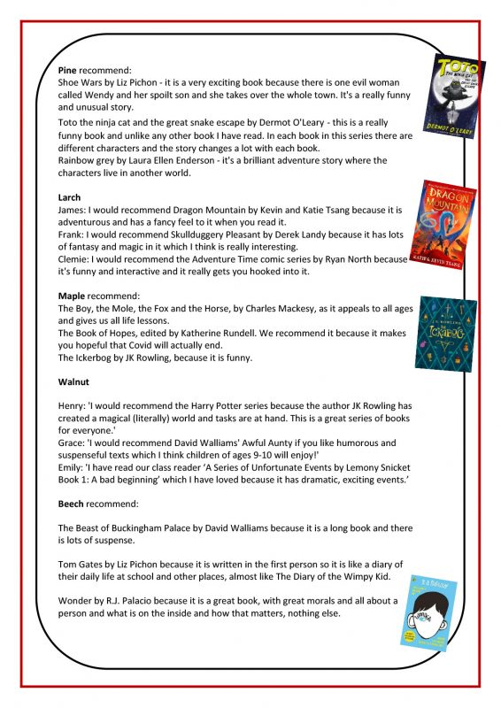 Reading Newsletter No. 7 July 2021 - Page 3