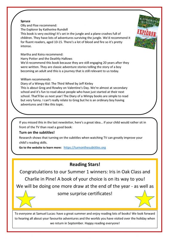 Reading Newsletter No. 7 July 2021 - Page 4